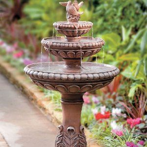 Superb 3 Tier Fountain