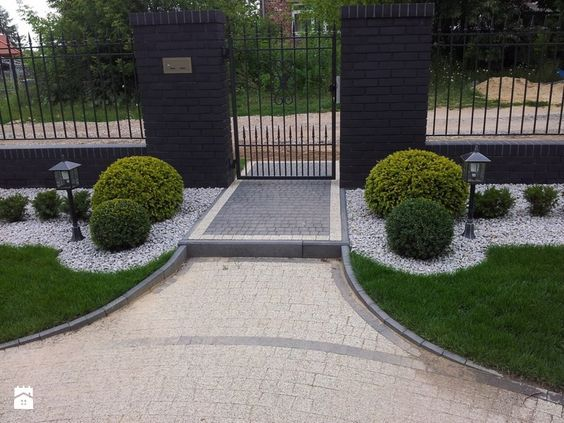Ideas de jardines para decorar entradas cosas casas - Entradas de jardines ...