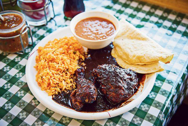 A dish from Taqueria el Mexicano