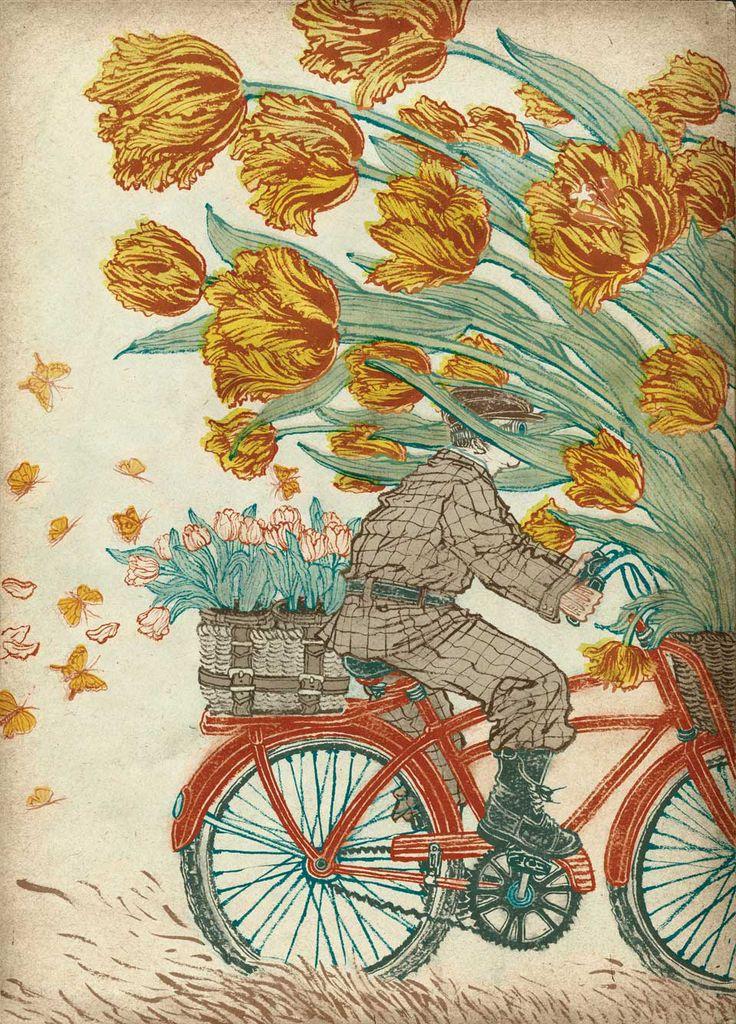 yuko shimizu http://www.artisaway.com/wp-content/uploads/2012/10/dutch_tulip-1.jpg