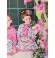 Vestido Estampado Floral de Dolce Petit