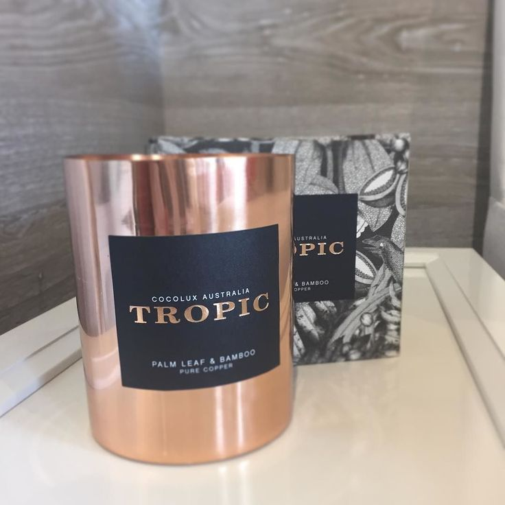 More #mothersday gift inspiration. A Collection of tropical candles made from coconut wax #madeinaustralia @cocolux_australia #australiandesign