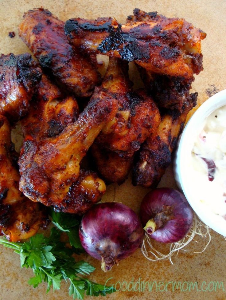 These sweet heat roasted chicken wings use spices you probably already have on-hand. Add the robust spices to maple syrup and brown sugar and the flavor is perfectly bold. They are addicting so make enough!