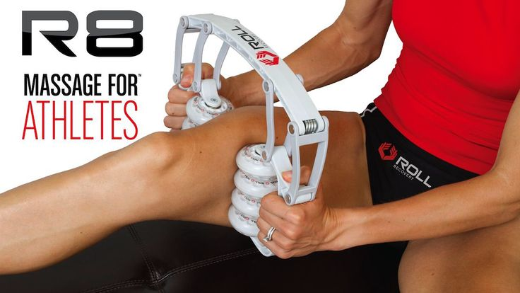 ROLL Recovery R8 After training, inflammation, swelling and muscle stiffness occurs. One of the fastest ways to recover is with massage. Revolutionary in design, the R8 massage roller was developed to reduce inflammation after workouts, breakup muscle adhesions and stimulate blood circulation.