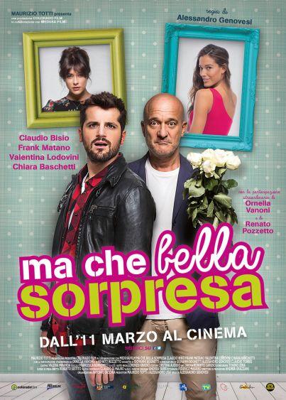 Ma che bella sorpresa (film, commedia) con Claudio Bisio e Frank Matano ... al #cinema dal 11 marzo 2015 ... #film #trailer