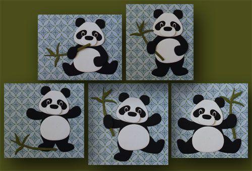 Met de nieuwe stans van de panda van Eline Pellinkhof kun je verschillende houdingen aan de panda geven. In dit blogbericht zie je ook een uitgewerkte kaart. http://marjoleinesblog.blogspot.nl/2016/06/deze-kaarten-maken-we-tijdens-de.html