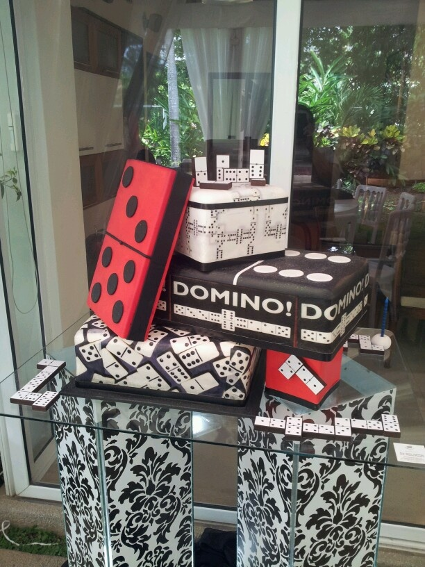 Domino Cake Domino Party Pinterest Cakes And Decoration