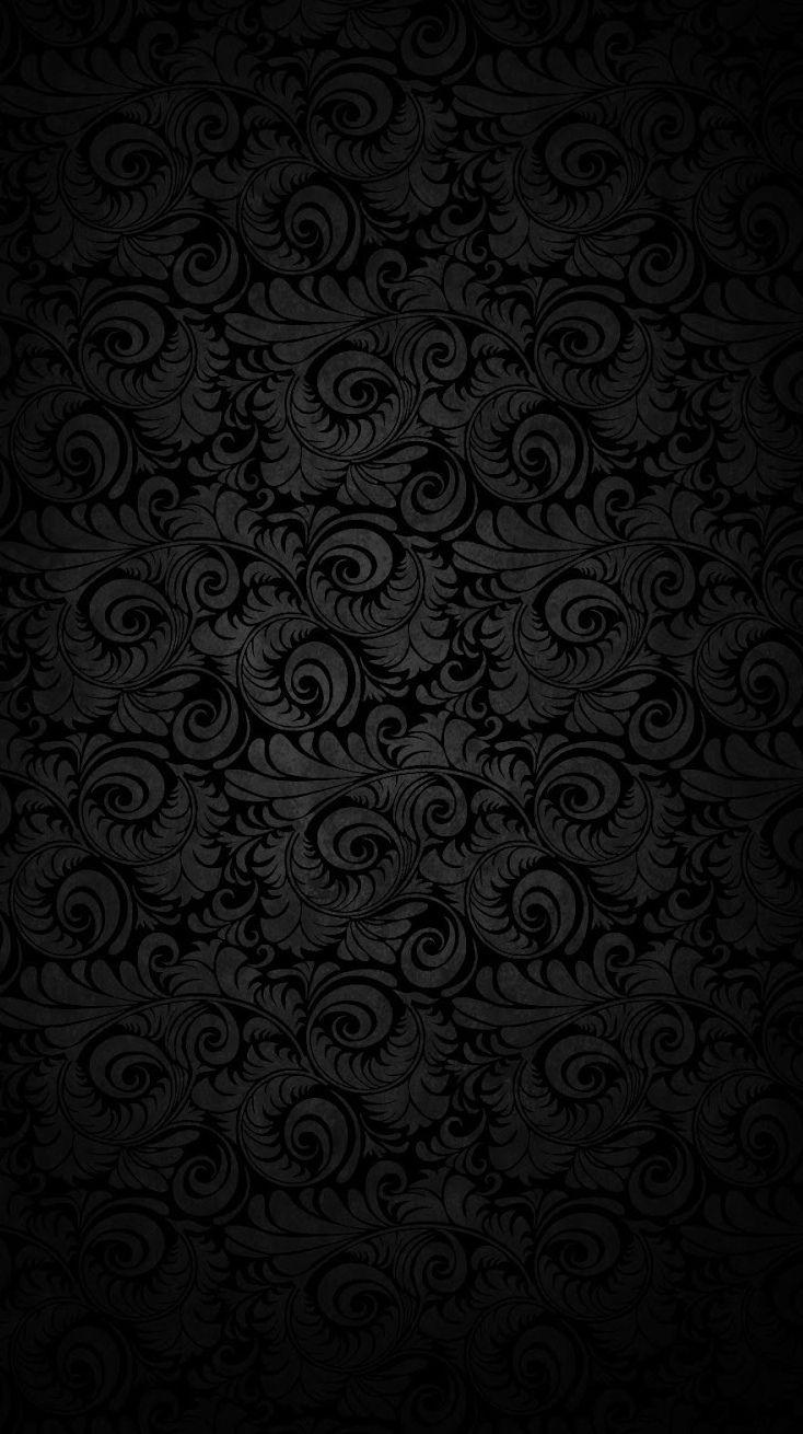 Rosa y negro de Chevron Wallpaper