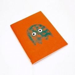 Pacman Turuncu Defter - #tasarim #tarz #turuncu #moda #nishmoda #orange #design #designer #fashion #trend