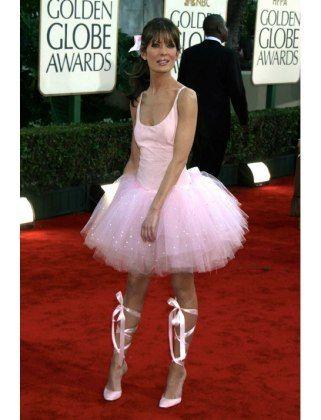 lara flynn boyles insane ballerina outfit 100 celebrity halloween costume ideas lucky magazine - Halloween Ballet Costumes