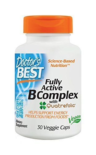 The breakthrough features of this formulation include: supplies only the best-utilized b vitamin forms. Most b vitamin supplements use cheap forms that are not optimally utilized in the body. This formulation does not compromise-it provides generous amounts of the most active b vitamins.... more details at http://supplements.occupationalhealthandsafetyprofessionals.com/vitamins/vitamin-b/b-complex/product-review-for-doctors-best-fully-active-b-complex-non-gmo-gluten-free-vega