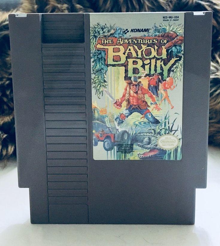 Vintage 1985 Bayou Billy Nintendo NES, Nintendo Games, Vintage Toys, Antique Alchemy