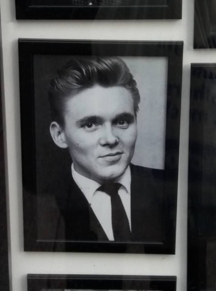 Billy Fury in Legends Memorabilia shop in 77, Church Street, Liverpool - found by Sharon Walsh November 2016