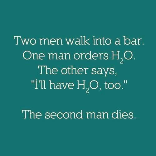 Great science joke.