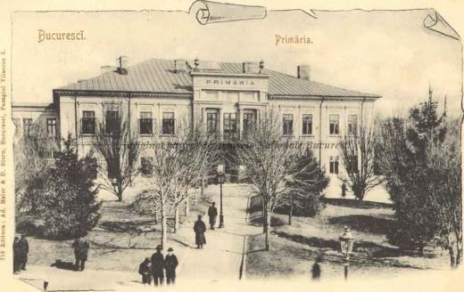 BU-F-01073-5-06350 Bucureşti, Primăria, 1880-1900 (niv.Document)