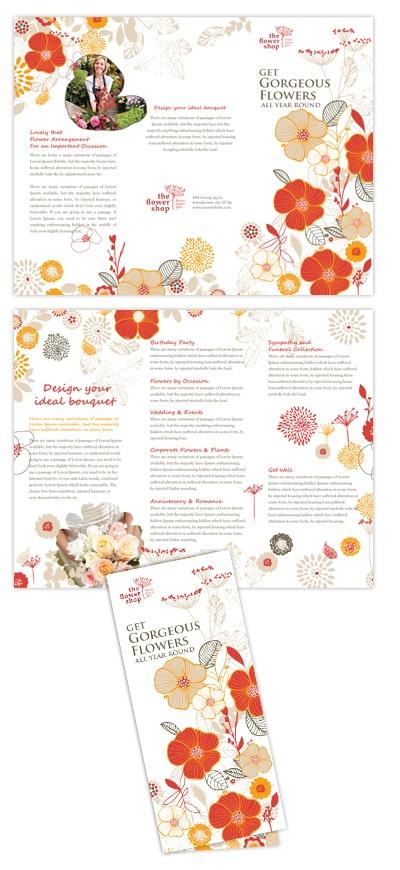 Florist Shop brochure design  Brochure Design  #Brochure Design  #BrochureDesign  www.iGOprinting.com