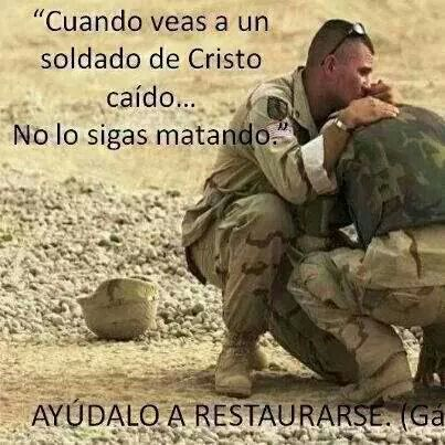 SOLDADOS DE CRISTO CAIDOS.