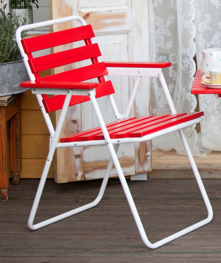 Varax 305 Tuoli. Retro Ulkokalustesetti - Varax Stol 305  Utemöbel - Varax chair 305  retro garden set