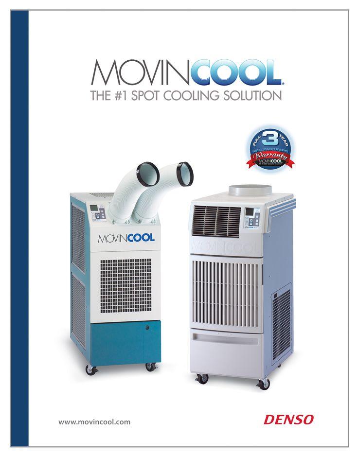 Nouveau – MovinCool 2016Climatiseur localisé portable Catalogue de produits