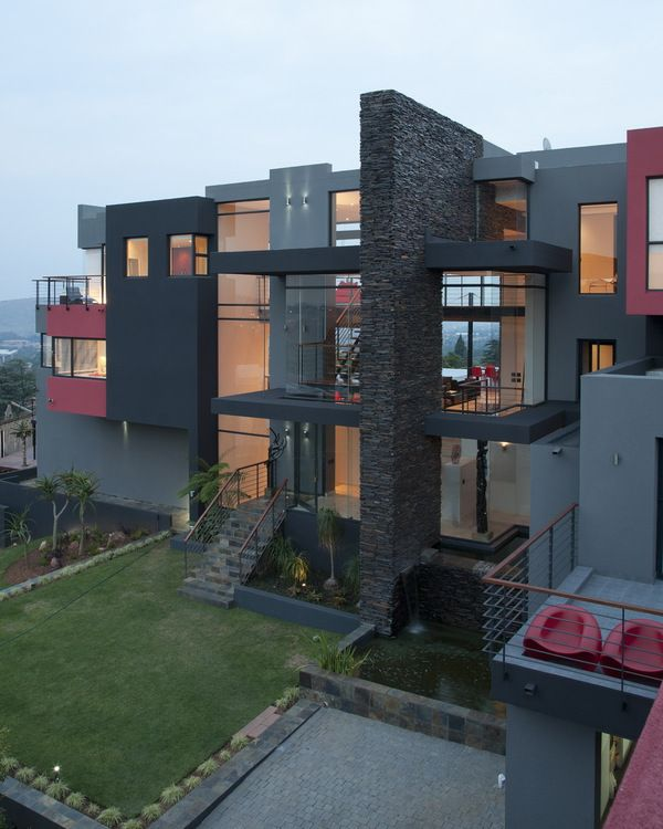 Open house with amazing wraparound views in South Africa. Gorgeous!