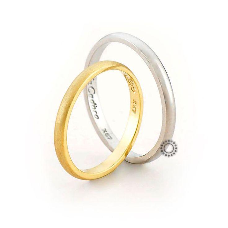 Βέρες γάμου Facadoro 38Α/38Γ - Ένα λεπτό και κλασικό σχέδιο από χρυσές βέρες FaCadoro | ΤΣΑΛΔΑΡΗΣ στο Χαλάνδρι #βέρες #βερες #γάμου #greece #gold #facadoro #tsaldaris