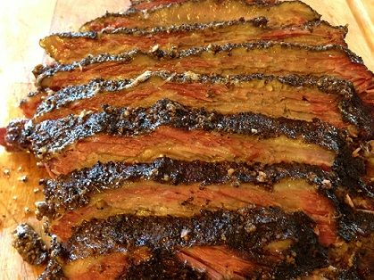 """Brisket is the meat of choice for barbecuing in the great state of Texas. In fact, smoked brisket is considered the """"National Dish of Texas."""""""
