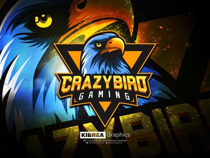 Eagle Esports Mascot Logo by Kibrea Graphics