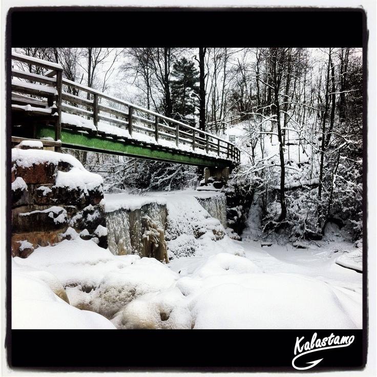 Frozen Nukarinkoski - www.kalastamo.com