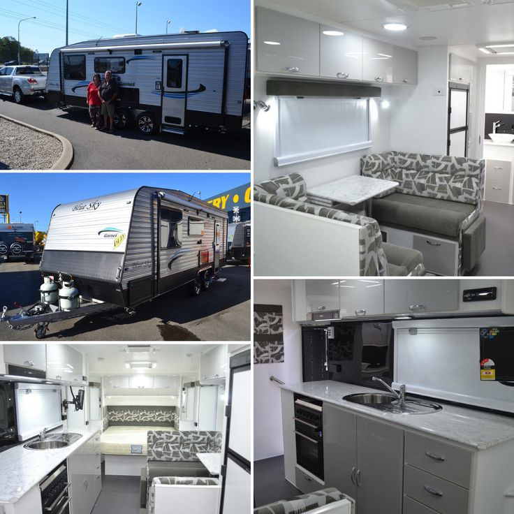 Well done to our customers on their purchase of a Blue Sky Garnet. Alot of their time went into researching their dream caravan, and after visiting a number of dealerships the Blue Sky Garnet came up trumps. The interior design, the flexibility to customise, choice of their own colours, value for money and feedback from other customers, that Sunrise Caravans will be their before, during after the sale were all very important factors when deciding on the Garnet.