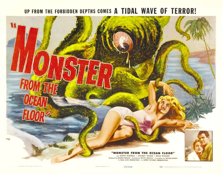 #50s #movie #poster #horror #macabre
