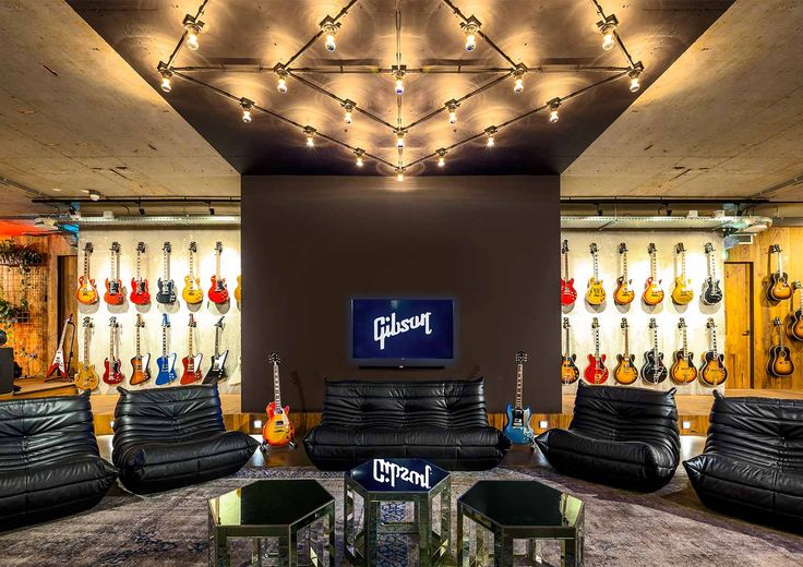 GIBSON designed by TANK