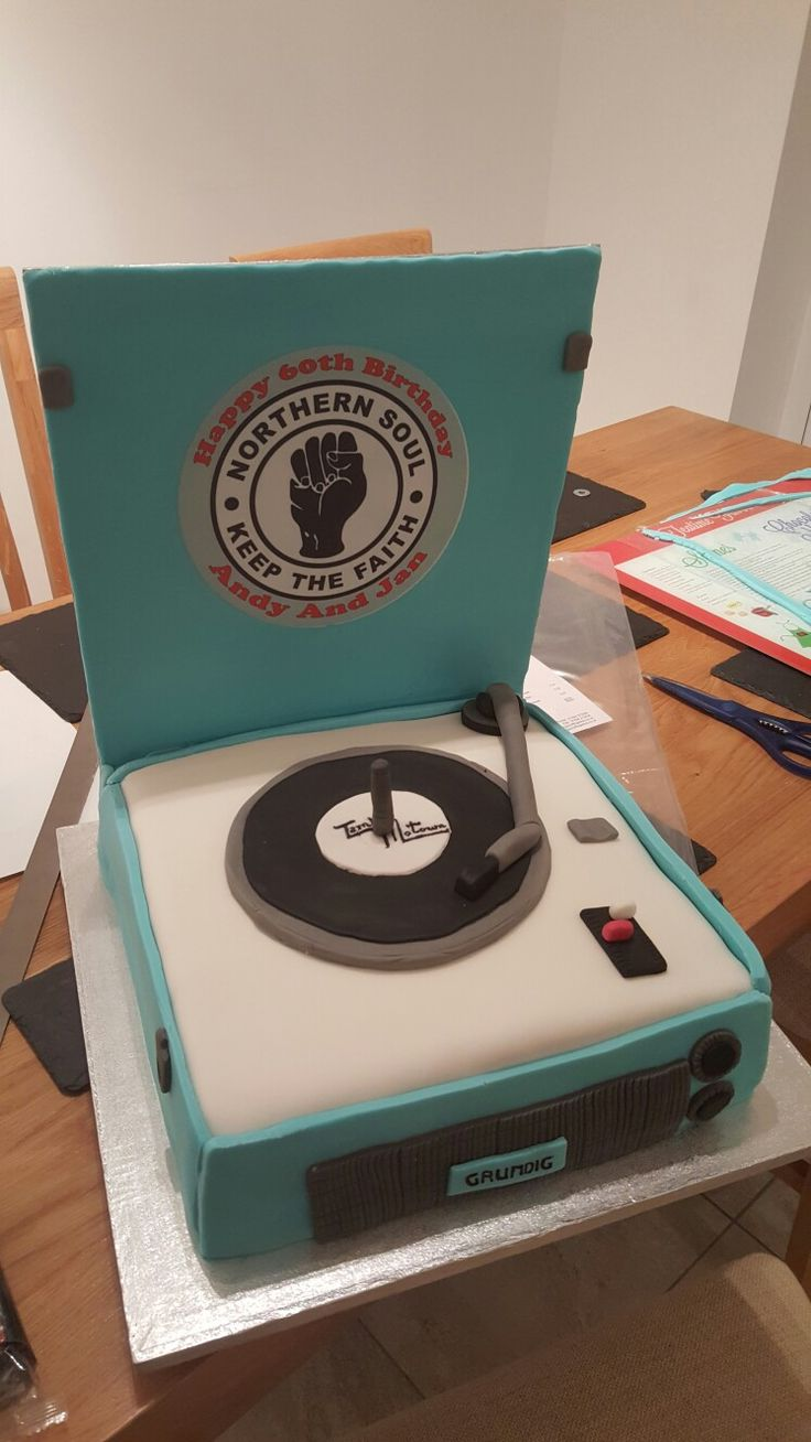Northern Soul, Motown, 60th  birthday cake.