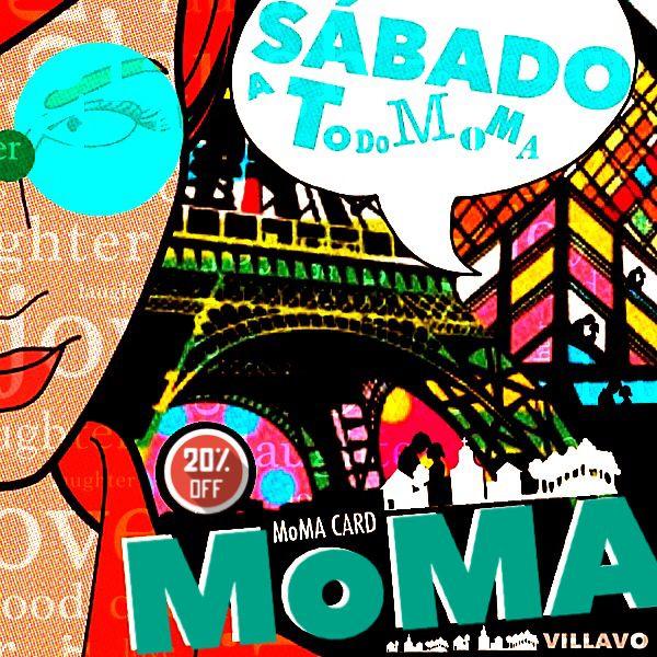 Hoy es un sabado de buena rumba....para eso esta MoMA Bar...Reservas abiertas...buena musica comodidad y precios excelentes!