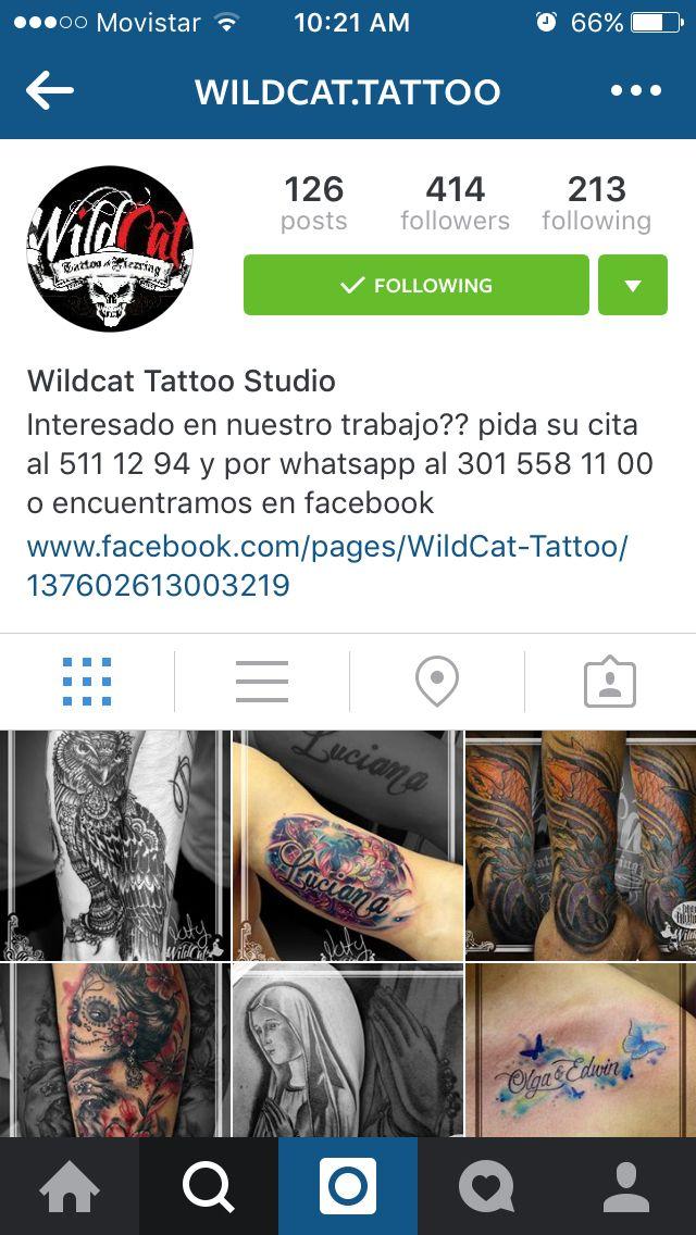 Siguenos en Instagram @wildcat.tattoo Follow us in Instagram @Wildcat.tattoo @Wildcat.tattoo @Wildcat.tattoo @Wildcat.tattoo