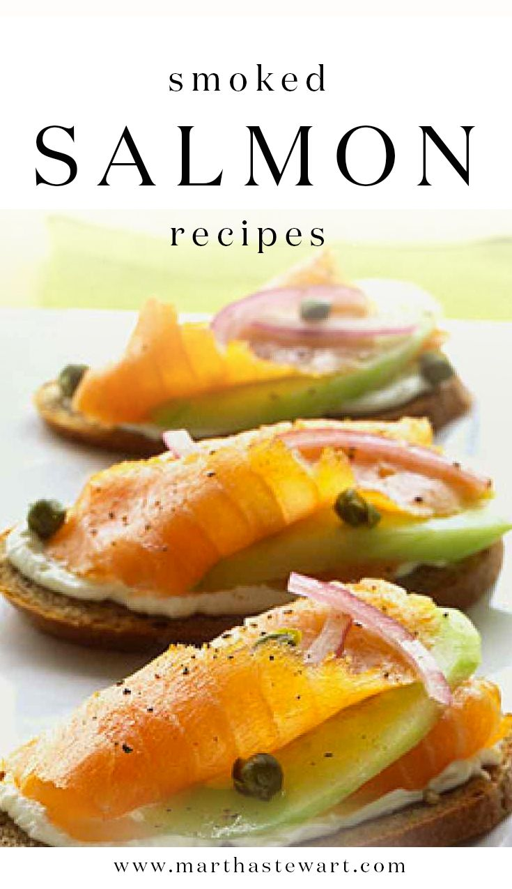 how to serve cold smoked salmon