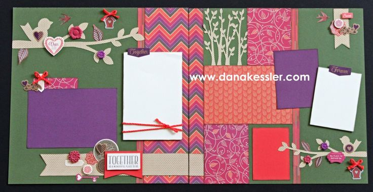layout by Dana Kessler using CTMH Sangria paper