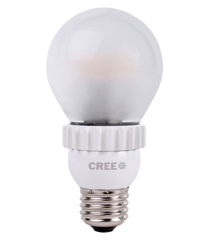 Cree LED bulb - More efficient and lasts longer than other types of efficient bulbs, plus looks like an incandescent according to BH&G
