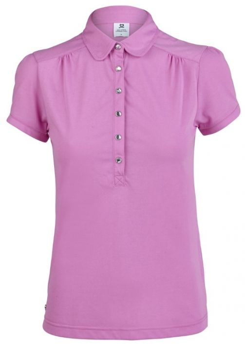 Love Golf Shirts? Here's our  Aurora Daily Sports Ladies Majken Cap Sleeve Golf Polo Shirt! Find plenty of Golf Outfits here at #lorisgolfshoppe
