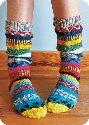 Lekkere warme sokken