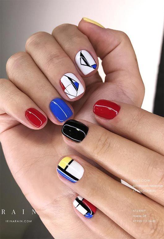 65 beeindruckende Nail Art Designs für kurze Nägel – Perfectly polished