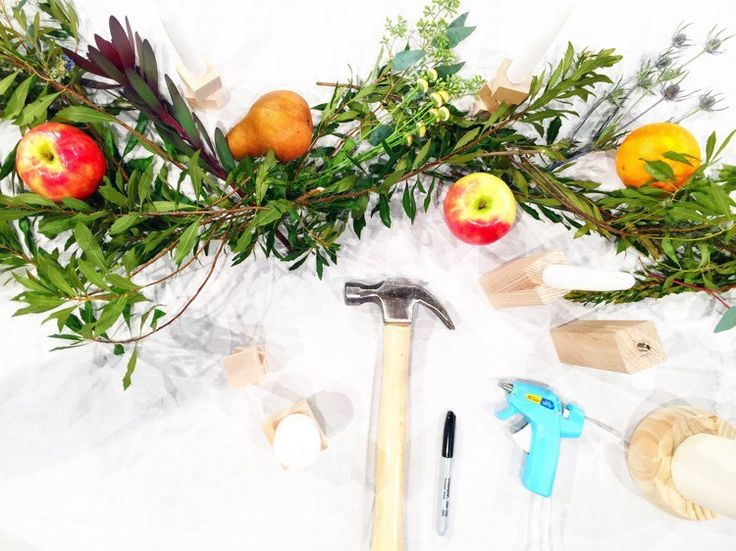 Thanksgiving is in two days! Are you excited? Are you ready? This year we're spending the holiday in Hurricane, Utah with my family (you can catch up with us on Instagram). But before we left town a few days ago, I had a chance to share some simple, inexpensive-yet-chic DIY tabletop ideas on Good Day …