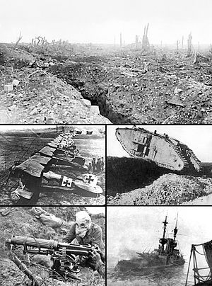 La primera guerra mundial :( di no a la guerra !!!!! :(