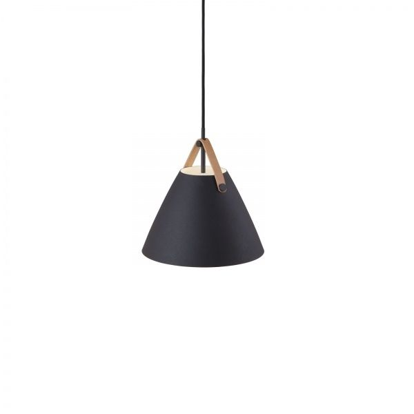 Strap 27 takpendel - Sort - Lightup.no - Nettbutikk med belysning, utebelysning og utelamper