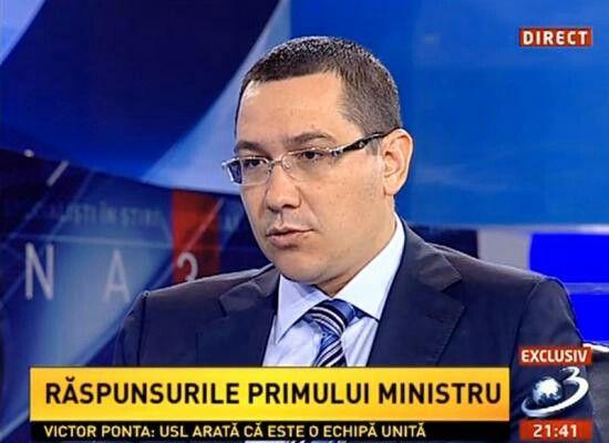 Despre proteste:  Am fost informat de către șeful SPP și reprezentantul jandarmilor, l-am sunat pe Daniel Barbu, e bine, mi-a relatat un episod inacceptabil în România lui 2013.  Trăim într-o societate care acceptă diversitatea opiniilor, atâta timp cât oamenii protestează pașnic și nu afectează interesele naționale. Faptul că Ministrul Barbu, unul dintre oamenii cei mai eleganți oameni, o persoană care cu greu stârnește agresiunea, este agresat, mi se pare inacceptabil.  Vreau să fie…