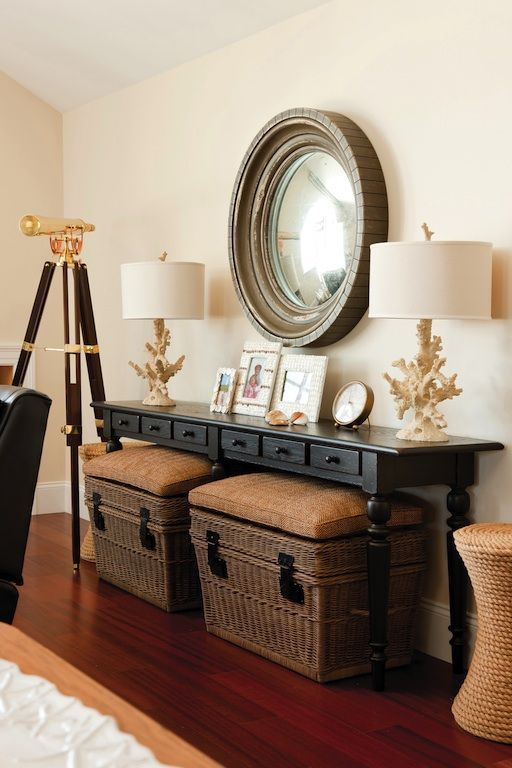 Adding A Console Table In Your Living Room Whether Its Behind A Sofa Or Agai