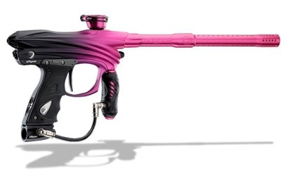 Pink paintball gun? Yes, please!
