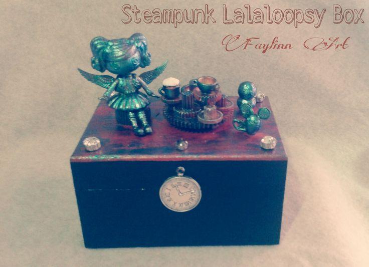 Lalaloopsy Steampunk box by Faylinn Art