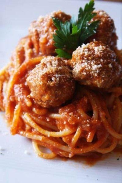 イタリアの肉団子ソース