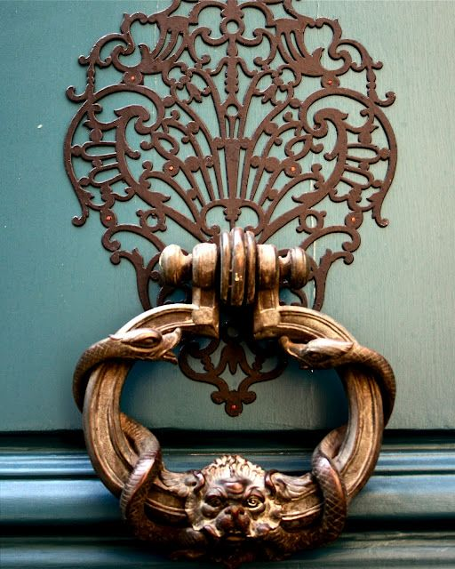 Blog do MesquitaDesign,Puxadores,Aldrabas,Portas Detail :: Doors in France II - French Bleu                                                                                                                                                      Mais