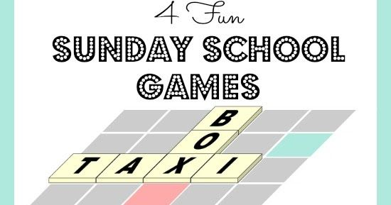 By Mary Kate Warner   Some teachers don't have any idea of the importance of Sunday school games ! Using games in order to teach l...